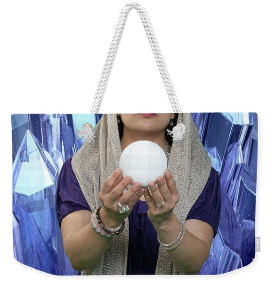 Crystal Goddess Weekender Tote Bag