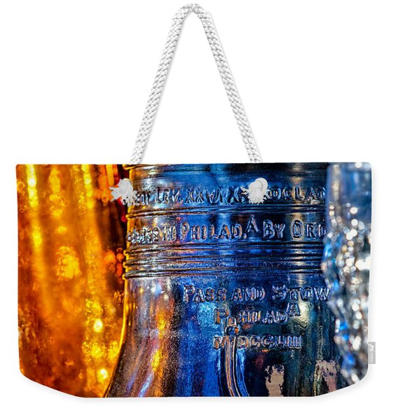 Crystal Liberty Bell Weekender Tote Bag