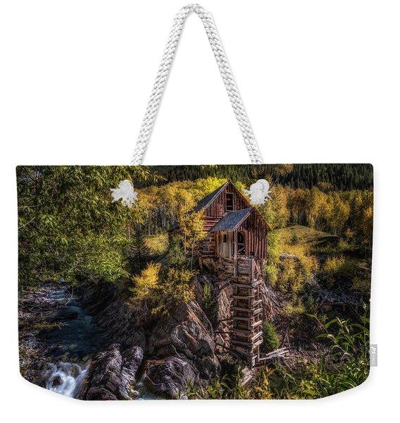 Crystal Mill Colorado Weekender Tote Bag