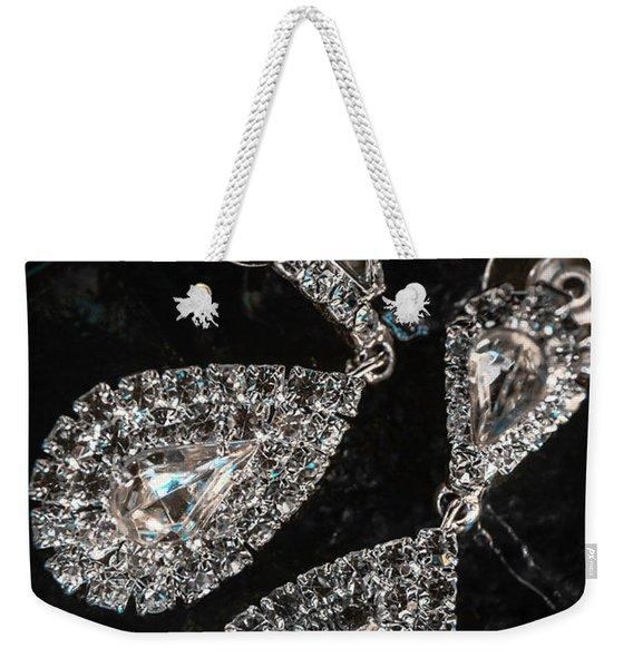 Crystal Rhinestone Jewellery Weekender Tote Bag