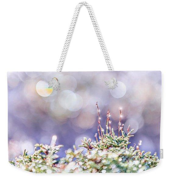 Crystal Silence Weekender Tote Bag