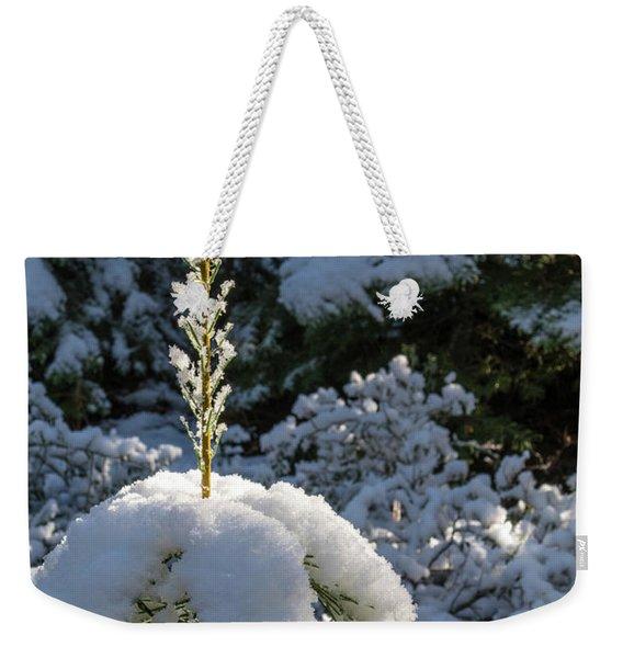 Crystal Tree Weekender Tote Bag