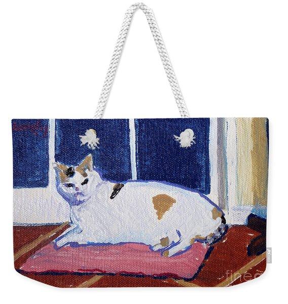 Crystal's Cat Weekender Tote Bag