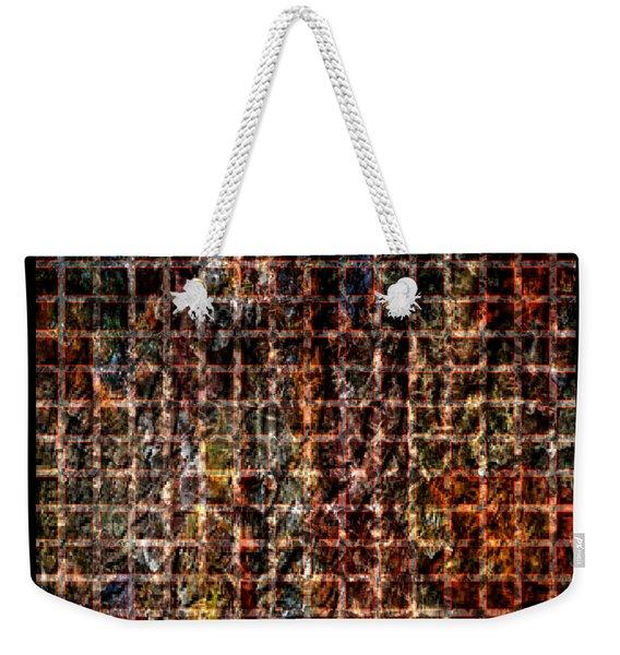 Grid Series 3-2 Weekender Tote Bag