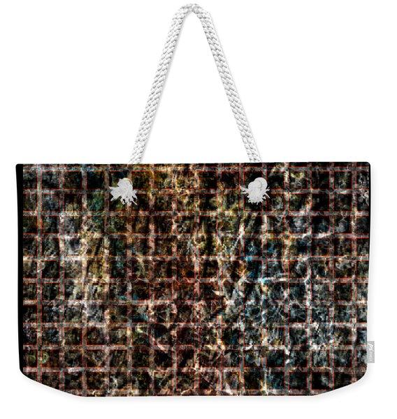 Grid Series 3-3 Weekender Tote Bag
