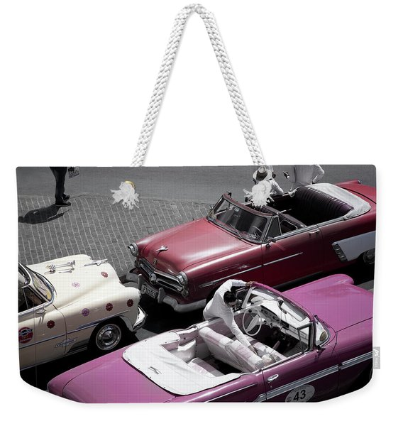 Cuba #3 Weekender Tote Bag