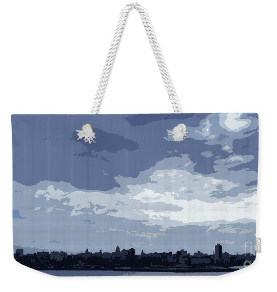 Cuba City And Skyline Art Ed4 Weekender Tote Bag