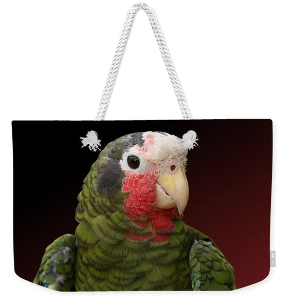 Cuban Amazon Parrot Weekender Tote Bag
