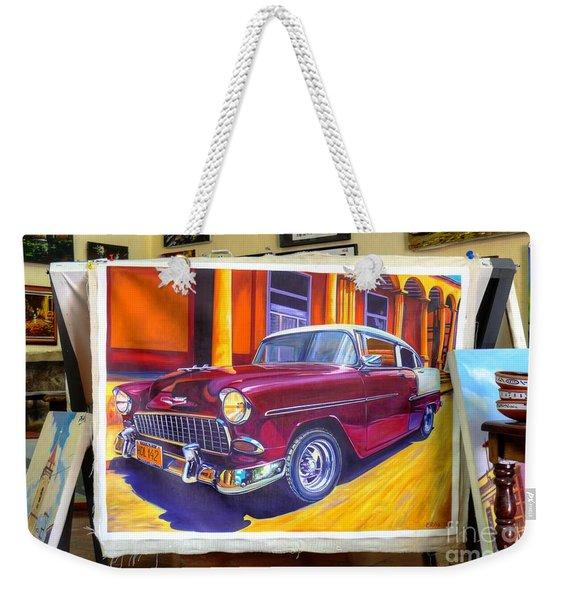 Cuban Art Cars Weekender Tote Bag