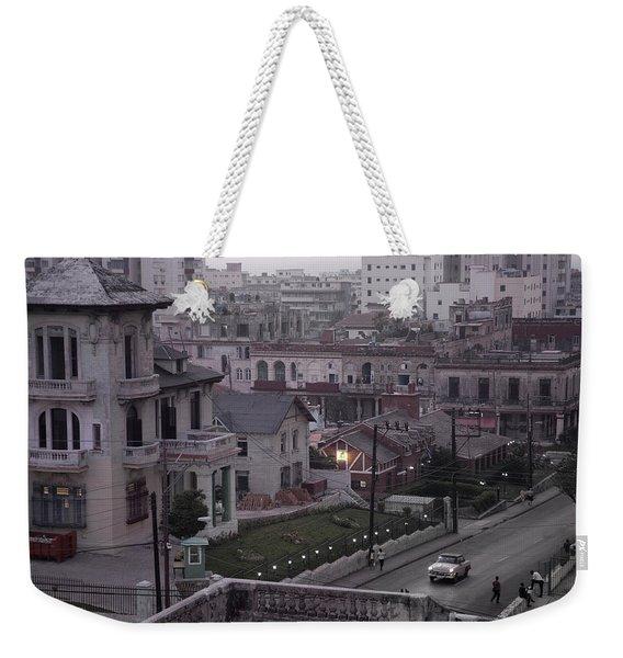 Cuban Life Weekender Tote Bag