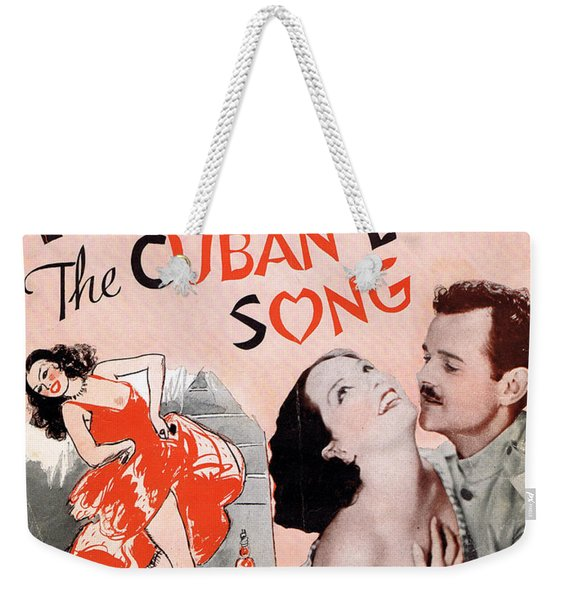 Cuban Love Song Weekender Tote Bag