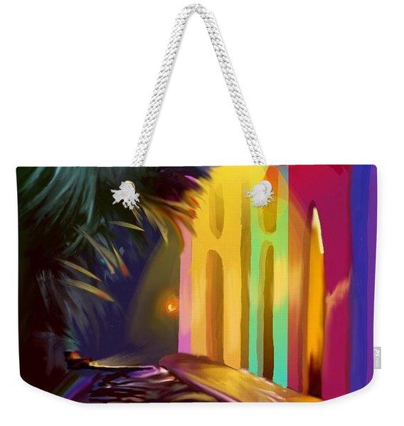 Cubano Street Weekender Tote Bag
