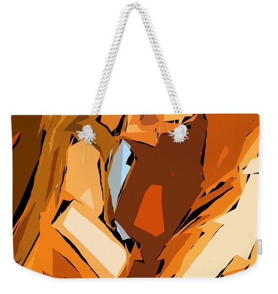 Cubism Series Ix Weekender Tote Bag