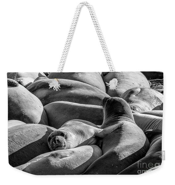 Cuddle Puddle Weekender Tote Bag
