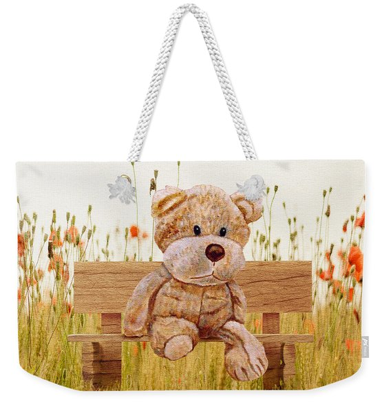 Cuddly In The Garden Weekender Tote Bag