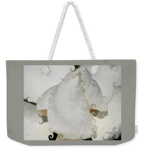 Culicue Magnolia Macro Weekender Tote Bag