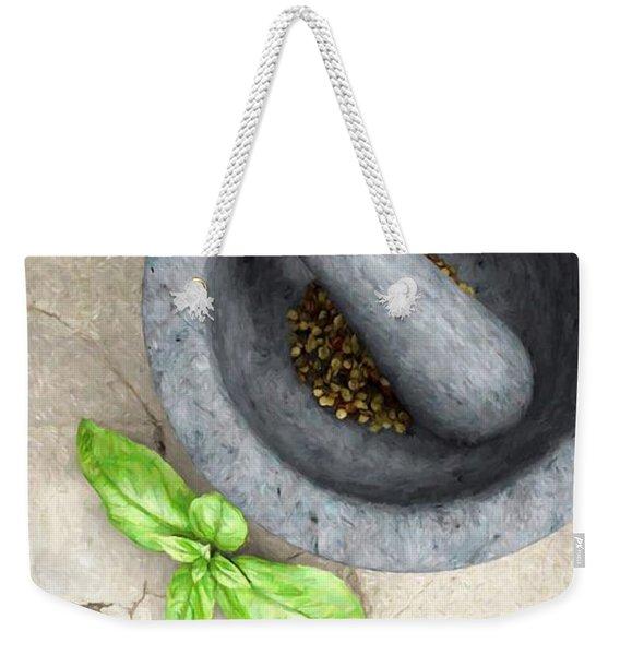 Culinary IIi Weekender Tote Bag