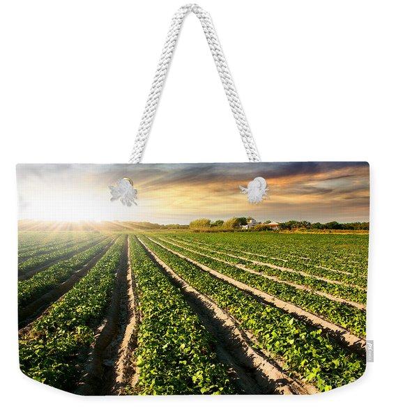 Cultivated Land Weekender Tote Bag
