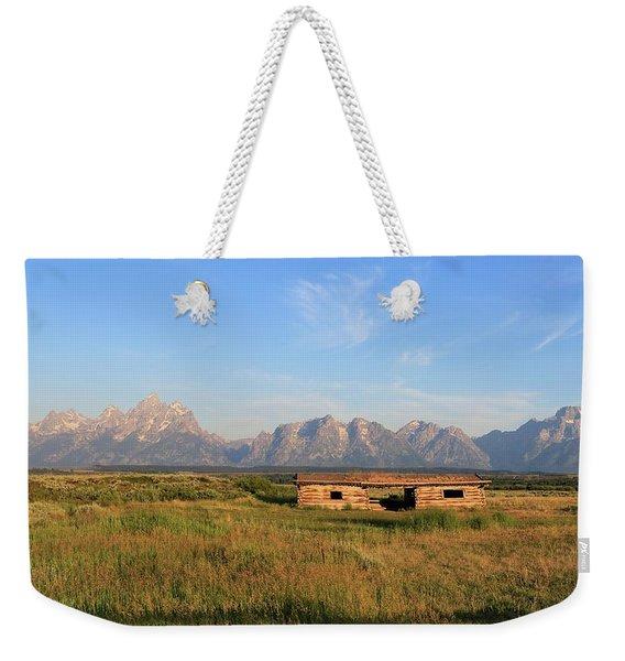 Cunningham Cabin Weekender Tote Bag