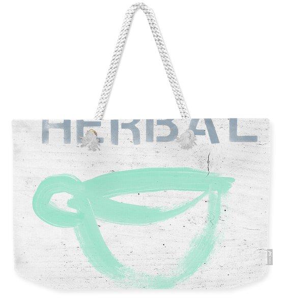 Cup Of Herbal Tea- Art By Linda Woods Weekender Tote Bag