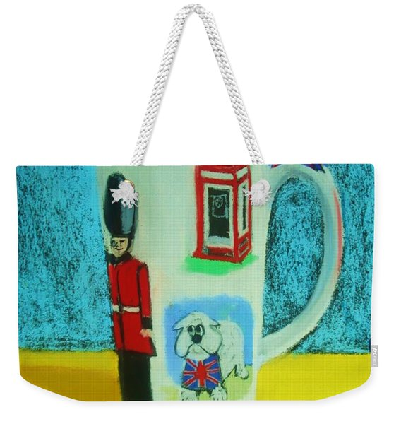 Cup Of London Java Weekender Tote Bag
