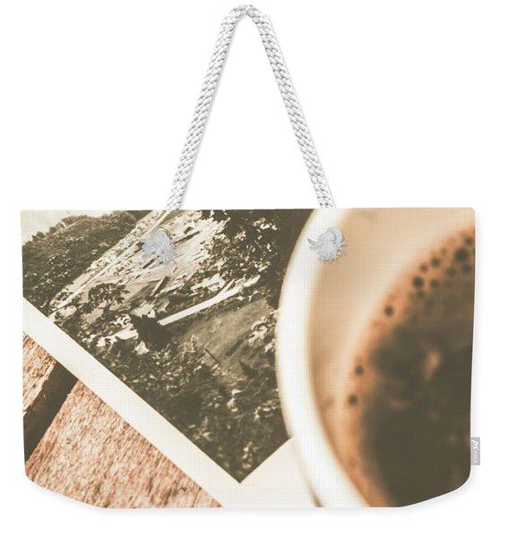 Cup Of Nostalgia Weekender Tote Bag