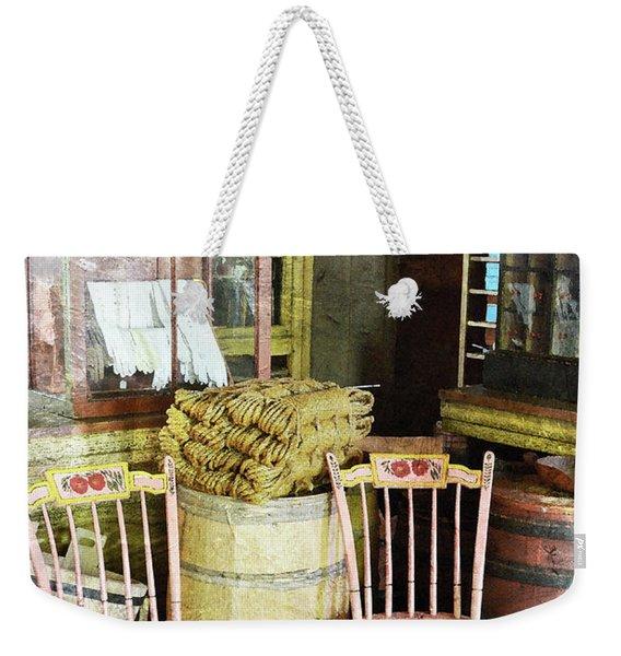 Cupboards Full Of Poetry Weekender Tote Bag