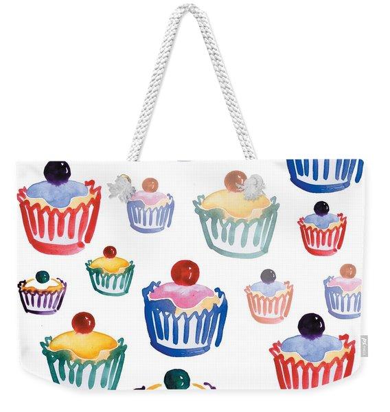 Cupcake Crazy Weekender Tote Bag
