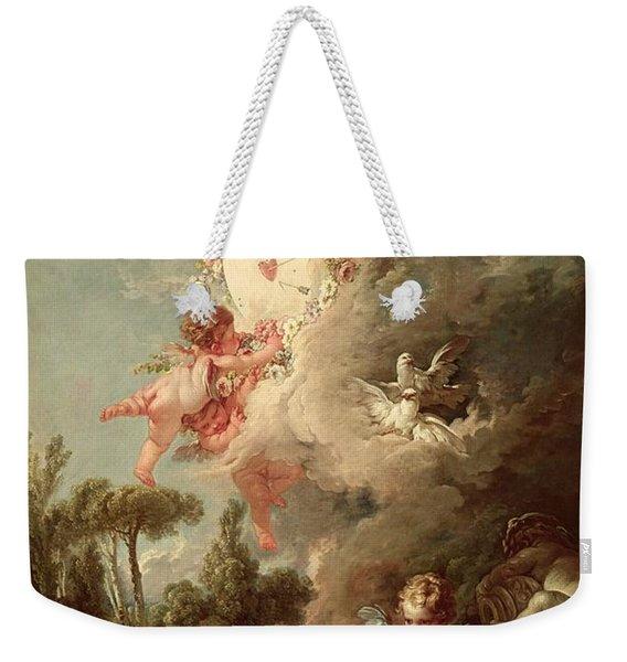 Cupids Target Weekender Tote Bag