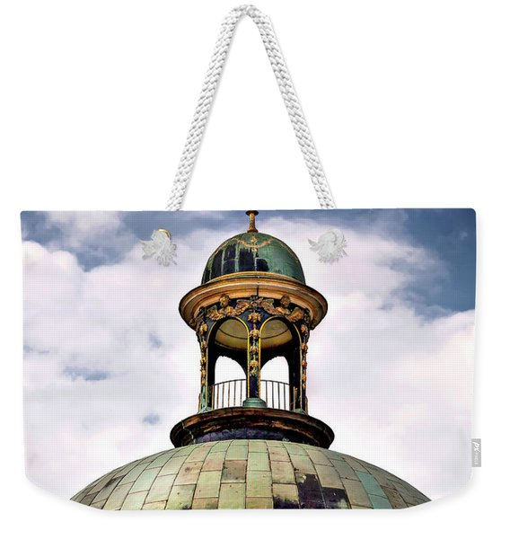 Cupola At Sans Souci Weekender Tote Bag