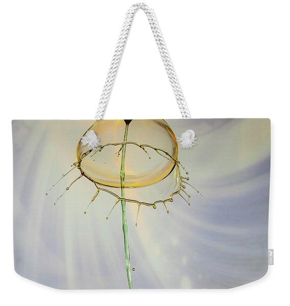 Cupped Weekender Tote Bag