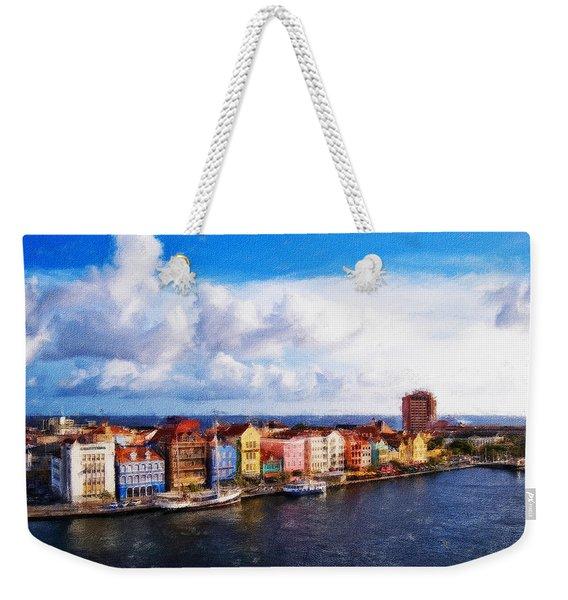 Curacao Oil Weekender Tote Bag