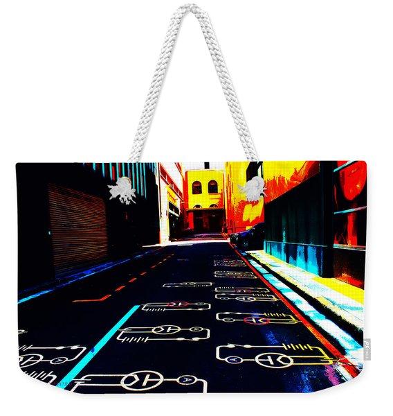 Curcuit City Weekender Tote Bag