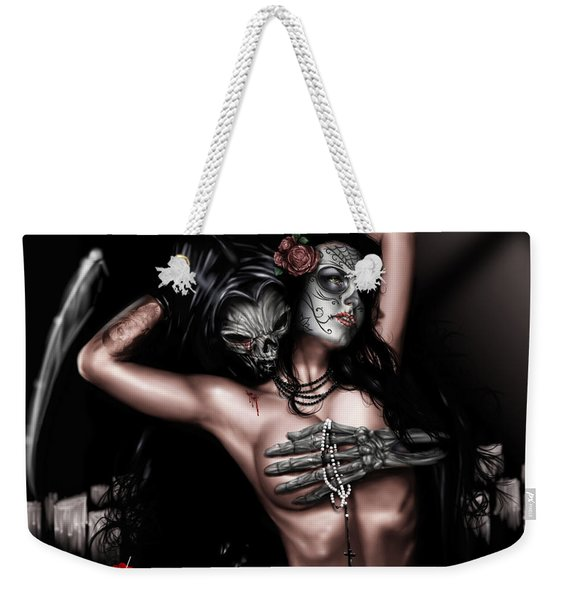 Cure My Tragedy Weekender Tote Bag