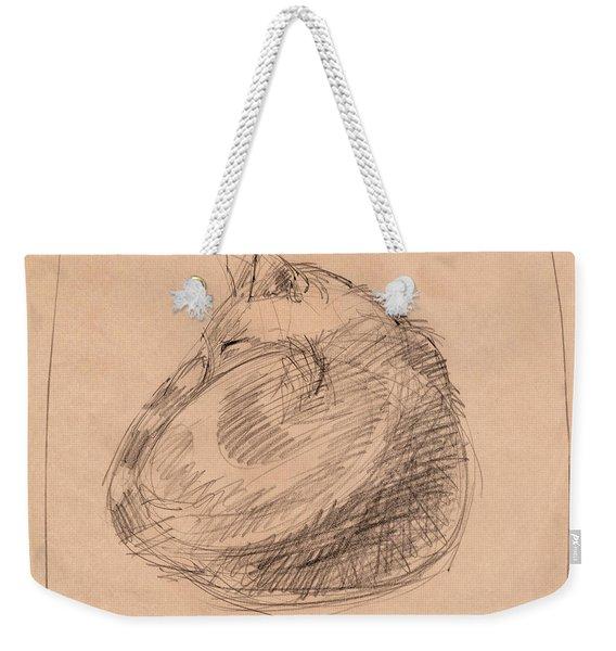 Curled Up Weekender Tote Bag