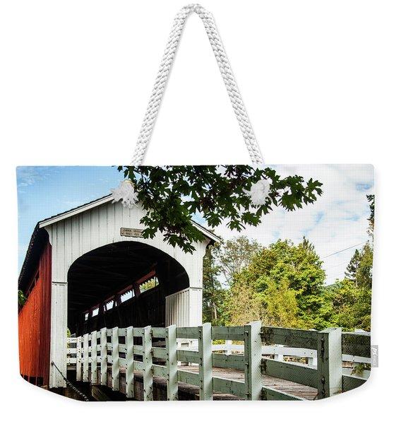 Currin Bridge Weekender Tote Bag