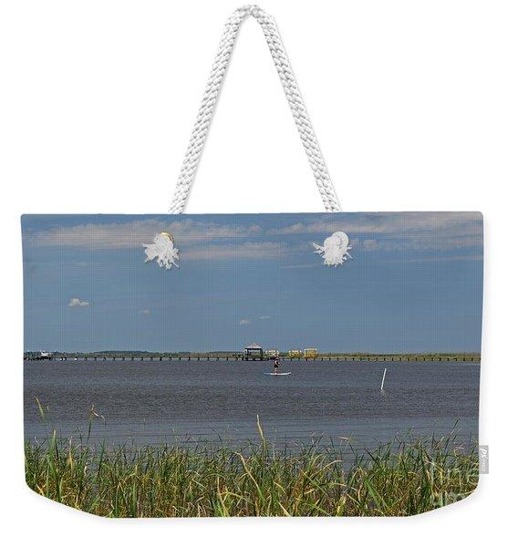 Currituck Sound Weekender Tote Bag