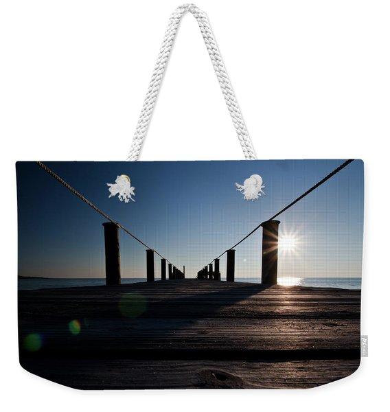 Currituck Sunset Weekender Tote Bag