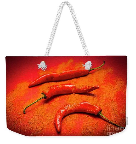 Curry Shop Art Weekender Tote Bag