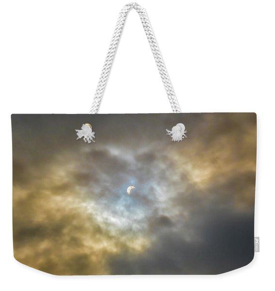 Curtain Of Clouds Eclipse Weekender Tote Bag