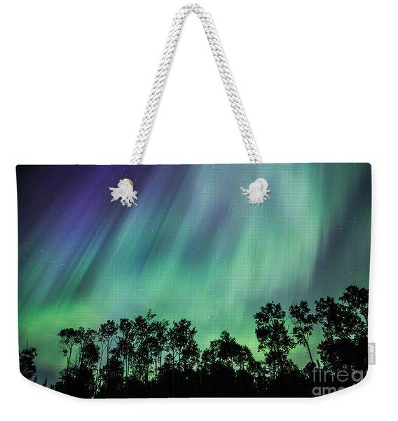 Curtain Of Lights Weekender Tote Bag