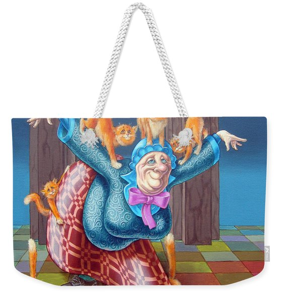 Curtsy Weekender Tote Bag