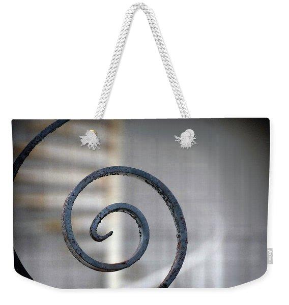 Curve Of Iron Weekender Tote Bag
