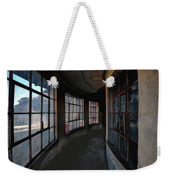 Curved Hallway Weekender Tote Bag