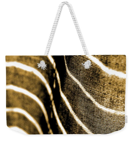 Curves And Folds Weekender Tote Bag