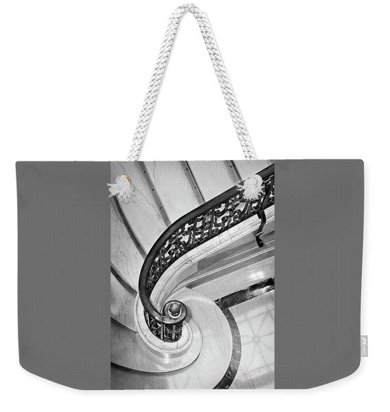 Curves And Light Weekender Tote Bag