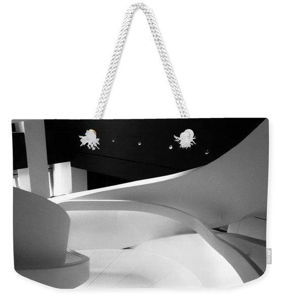 Curves Of Light Weekender Tote Bag