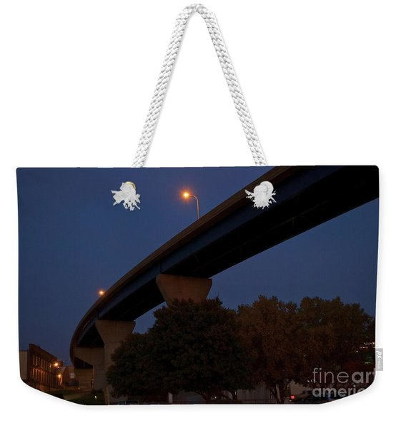 Curvy Bayview Evening -luther Fine Art Weekender Tote Bag