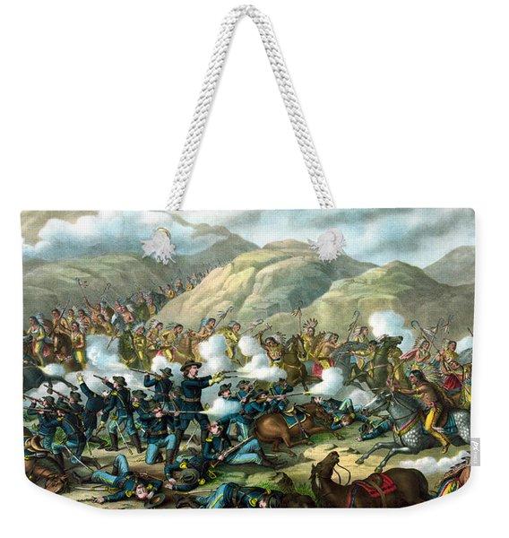 Custer's Last Stand Weekender Tote Bag