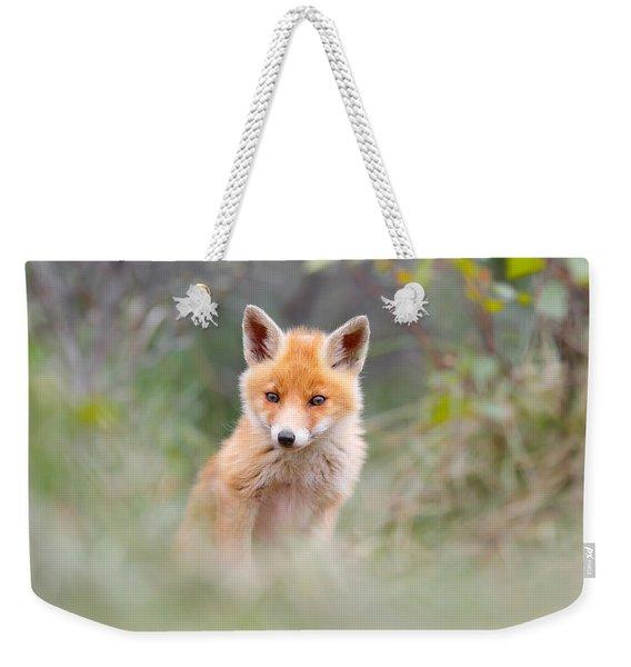 Cute Baby Fox Weekender Tote Bag